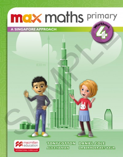 Max Maths Primary A Singapore Approach Grade 4 Workbook