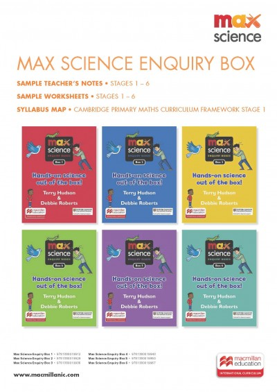 Max Science Enquiry Box: Sample Teacher Resource Material