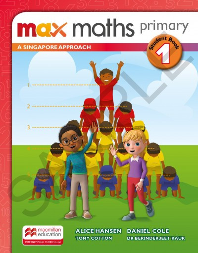 Max Maths Primary A Singapore Approach Grade 1 Student Book