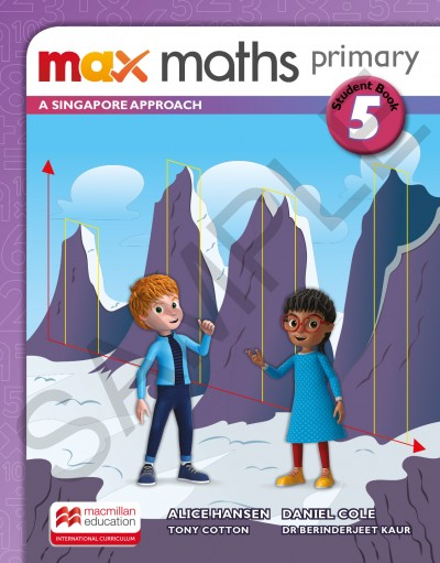 Max Maths Primary A Singapore Approach Grade 5 Student Book