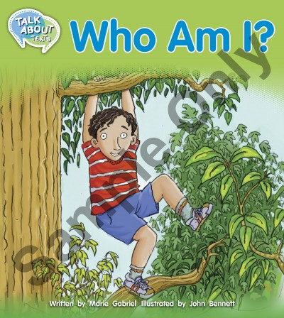 Talk about Texts - Who am I student book