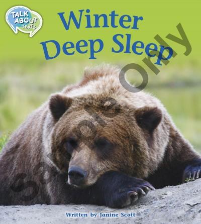 Talk about Texts - Winter Deep Sleep student book