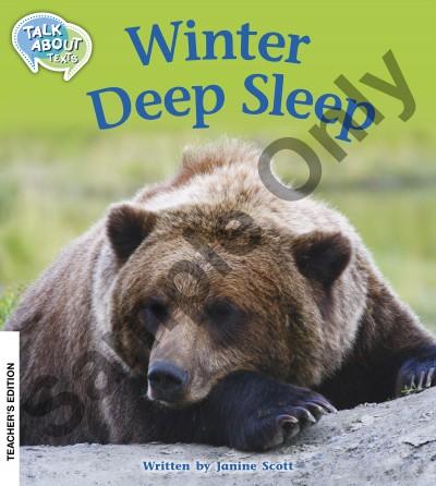 Talk about Texts - Winter Deep Sleep teacher book